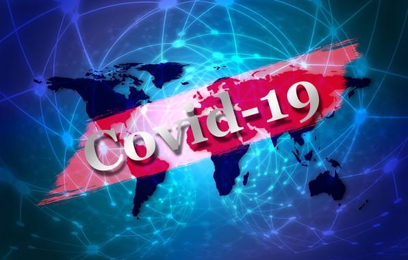 Картинка планета, угроза, коронавирус, COVID-19