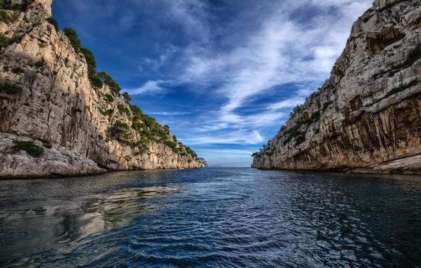 Картинка природа, France, Marseille, Provence-Alpes-Côte d'Azur