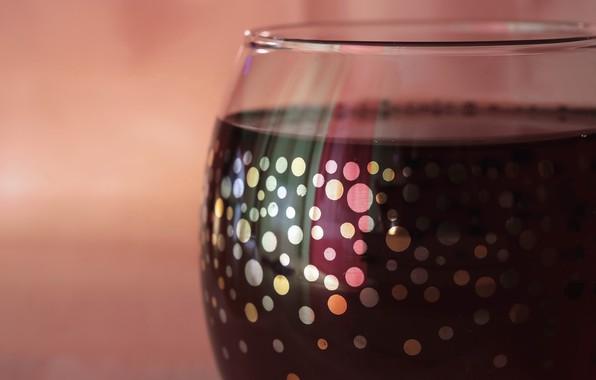 Картинка макро, вино, бокал