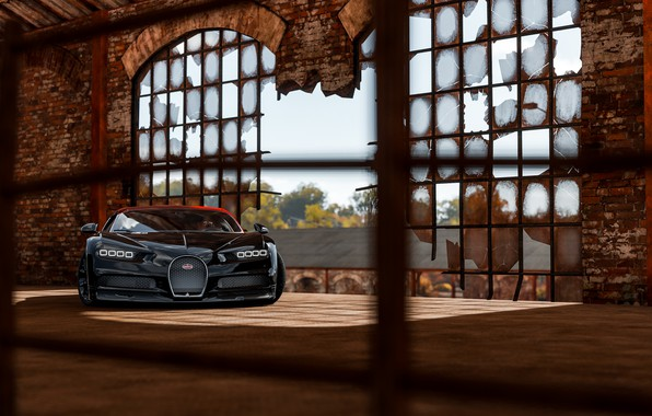 Картинка Bugatti, Light, VAG, Forza, Sight, Chiron, Horizon 4, 16/4