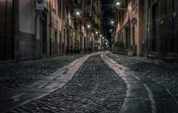Картинка Italy, Sardinia, Bosa