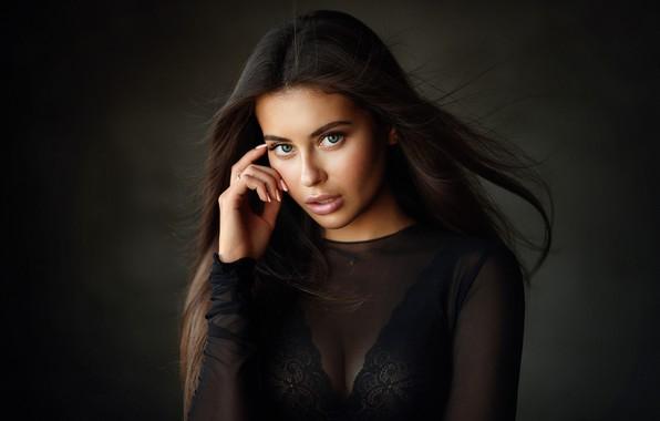 Картинка глаза, взгляд, девушка, волосы, Alina, Алина, Dmitry Arhar