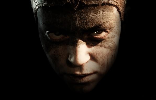 Картинка взгляд, игра, портрет, Hellblade: Senua's Sacrifice