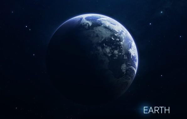 Картинка Звезды, Планета, Космос, Ягоды, Земля, Арт, Stars, Space, Art, Earth, Planet, Система, Berries, System, Солнечная ...