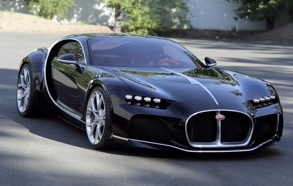 Картинка car, bugatti, atlantic