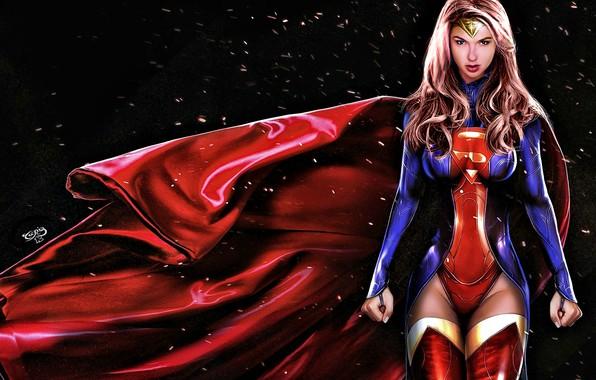 Картинка gal gadot, super girl, Super Hero