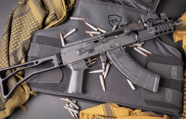 Картинка оружие, тюнинг, Автомат, Gun, weapon, custom, Калашников, АКМ, Штурмовая винтовка, Русский, AKM, штурмовая винтовка, assault …