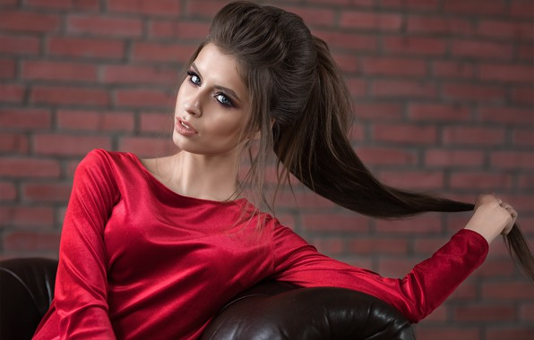 Картинка модель, Девушка, платье, Дмитрий Шульгин, Dmitry Shulgin