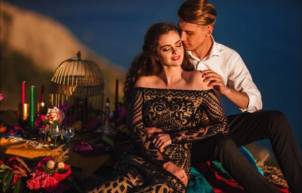 Картинка девушка, настроение, парень, влюблённые, Алексей Латыш, Таисия Кухаренко
