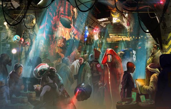 Картинка существа, чудики, инопланетяне, Col Price, Trading Post: Gateway mmo