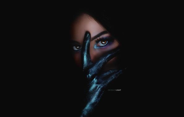 Картинка девушка, макияж, Мария, Alexander Drobkov-Light, Мари Ларина