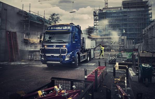 Картинка Volvo, Вольво, грузовой автомобиль, Volvo Trucks, Volvo FMX