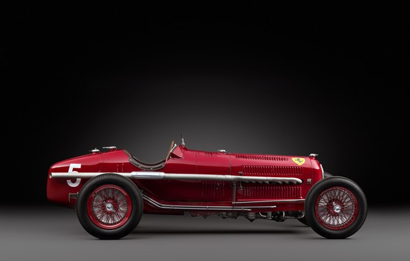Картинка Спицы, Alfa Romeo, Classic, Scuderia Ferrari, 1932, Grand Prix, Classic car, Sports car, Alfa Romeo ...