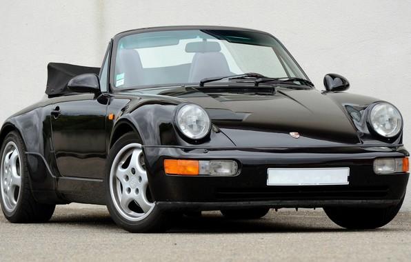 Картинка 911, Porsche, Carrera, Turbo, 1990, Cabriolet, 2