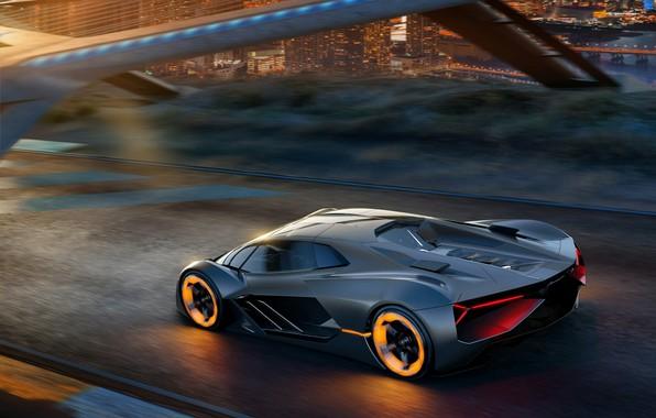 Картинка Concept, Lamborghini, суперкар, Terzo Millennio