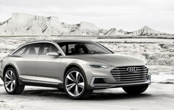 Картинка Concept, Audi, Allroad, универсал, AWD, 2015, Prologue