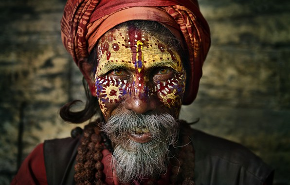 Картинка Nepal, Kathmandu, Sadhu