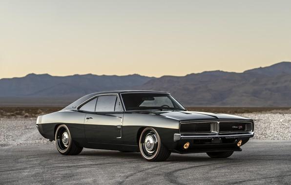 Картинка Dodge, Classic, Charger, Muscle car, Hemi, Vehicle