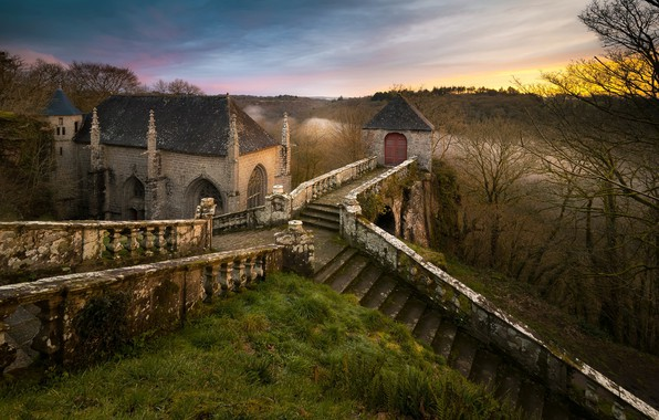 Картинка France, Bretagne, Chapelle du Faouët