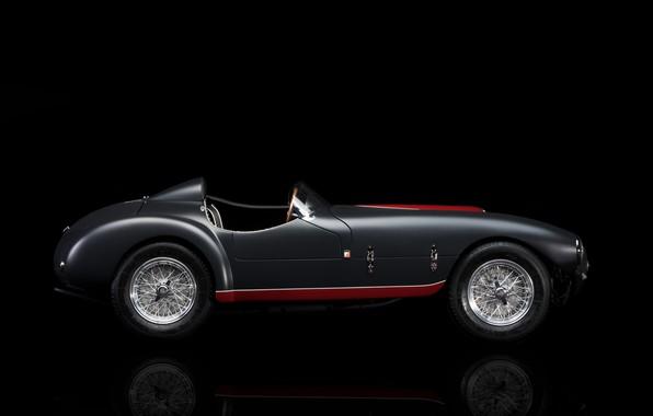 Картинка Ferrari, 1953, Classic, Classic car, Sports car, Ferrari 166, Ferrari 166 MM/53 Spyder