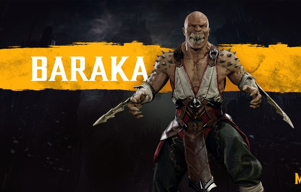 Картинка Игра, Боец, Арт, Смертельная Битва, Mortal Kombat, Персонаж, Барака, Baraka, Таркатан, Mortal Kombat 11, Mortal …