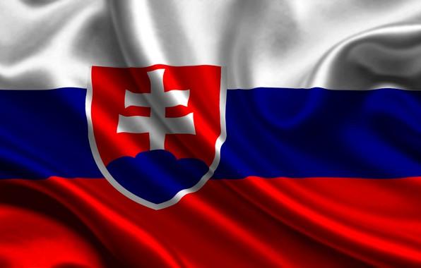 Картинка крест, флаг, герб, cross, fon, flag, coat of arms, словакия, slovskia