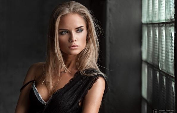 Картинка model, pretty, blonde, Евгений Маркалев