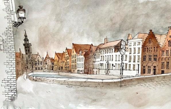Картинка Bruges, West-Vlaanderen, Stubben-kwartier