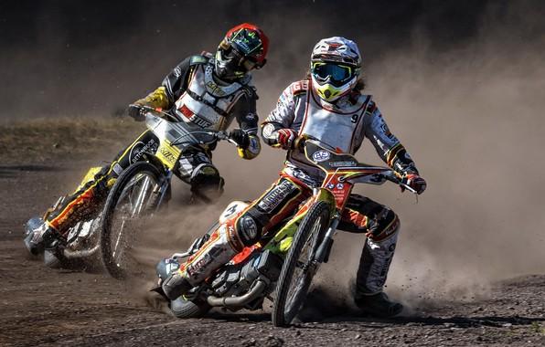 Картинка мотоциклы, гонка, Speedway