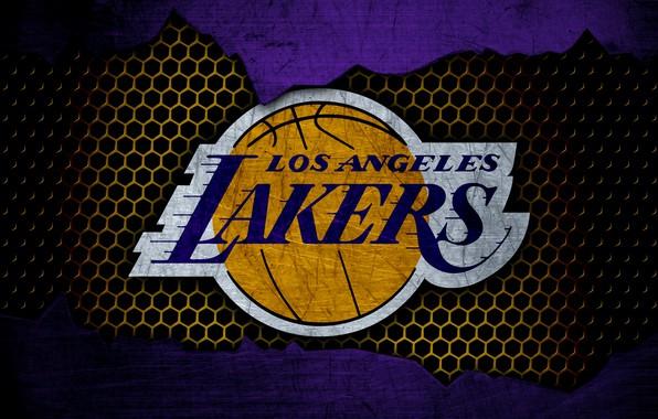Картинка wallpaper, sport, logo, basketball, NBA, Los Angeles Lakers