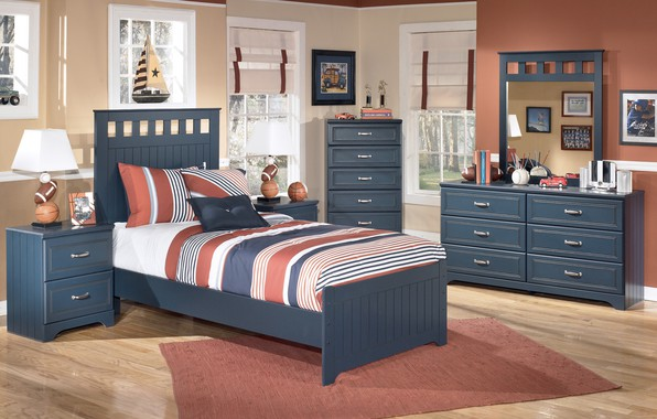 Картинка дизайн, мебель, кровать, интерьер, детская комната