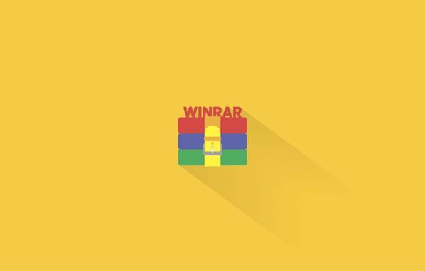 Картинка книги, минимализм, windows, програма, win, zip, софт, архив, архиватор, 7zip, rar, winrar, плоская тень