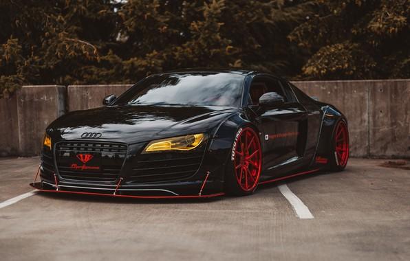 Картинка Audi, Audi R8, Liberty Walk, LB Performance