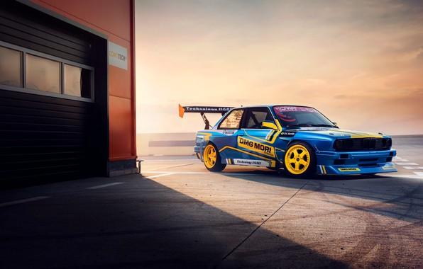 Картинка BMW, Drift, Machine, E30