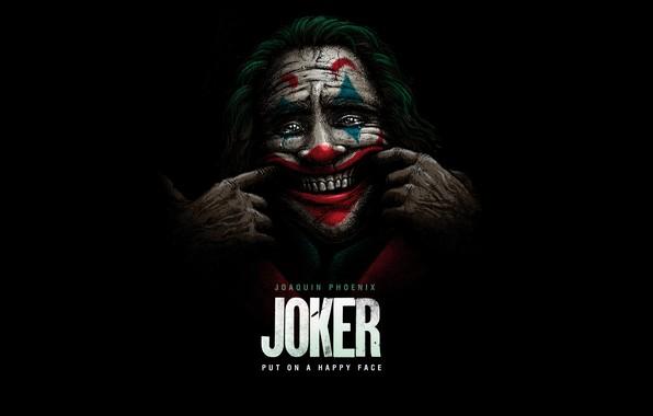 Картинка улыбка, клоун, Джокер, Joker, Хоакин Феникс