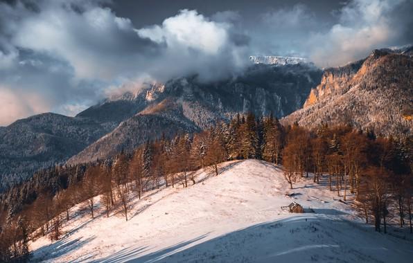 Картинка пейзаж, природа, гора