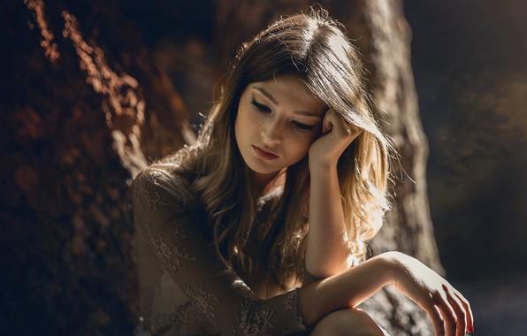 Картинка девушка, настроение, портрет, Marina