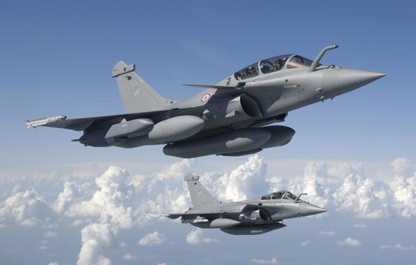 Картинка Истребитель, Dassault Rafale, ВВС Франции, Armée de l'Air