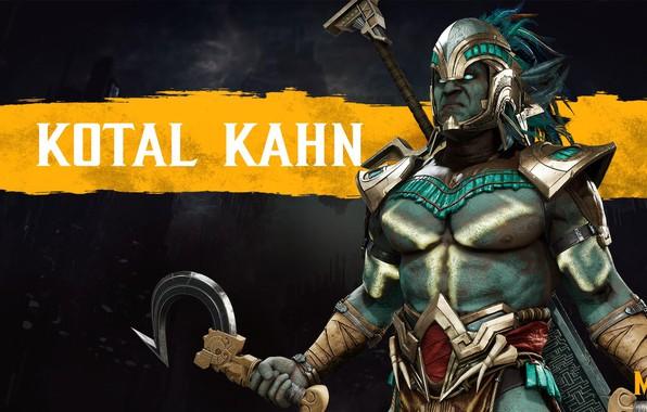Картинка боец, Смертельная Битва, MK11, NetherRealm Studios, Kotal Kahn, Коталь Кан, Mortal Kombat 11