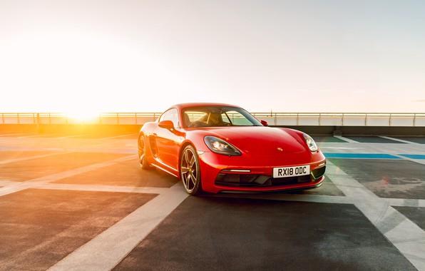 Картинка Porsche, Cayman, GTS, Porsche Cayman, 718, 2019