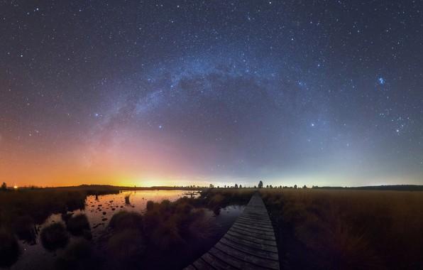 Картинка небо, звезды, Млечный путь, sky, stars, milky way