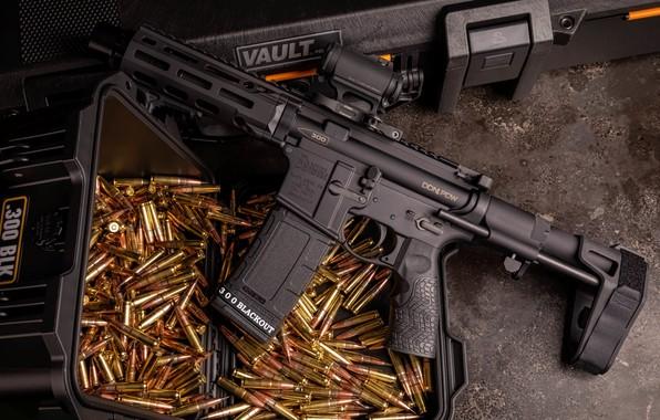 Картинка оружие, винтовка, weapon, render, custom, ar-15, assault rifle, assault Rifle, ар-15, ар 15, ar 15