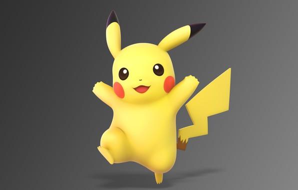 Картинка пикачу, электрический, покемон, pokemon, pikachu