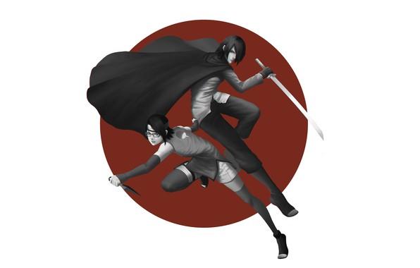 Uchiha Sasuke Naruto Uchiha Clan Uchiha Sarada Daughter
