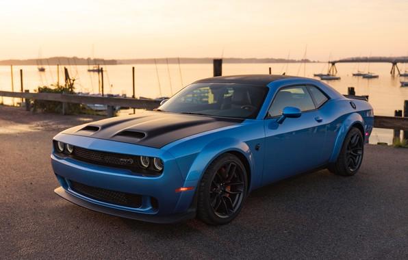 Картинка Dodge, Challenger, Hellcat, SRT, 2019, Redeye Widebody, 2019 Dodge Challenger SRT Hellcat Redeye Widebody