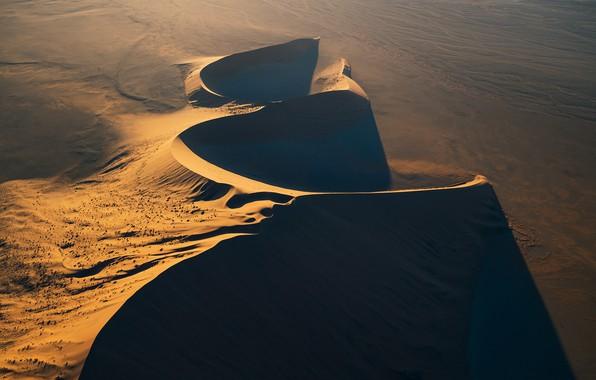 Картинка песок, пустыня, desert, Намибия, sand, дюна, Namibia, dune, Zhu Xiao
