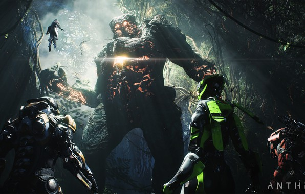 Картинка monster, Electronic Arts, Anthem, gameplay, E3 2018