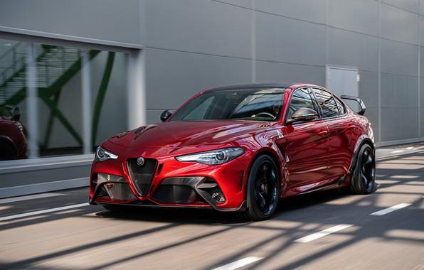 Картинка Alfa Romeo, седан, Giulia, GTAm, 2020