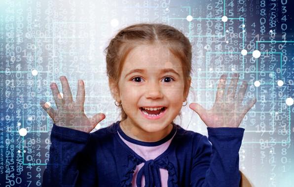Картинка информация, девочка, школа, скоро, новый учебный год