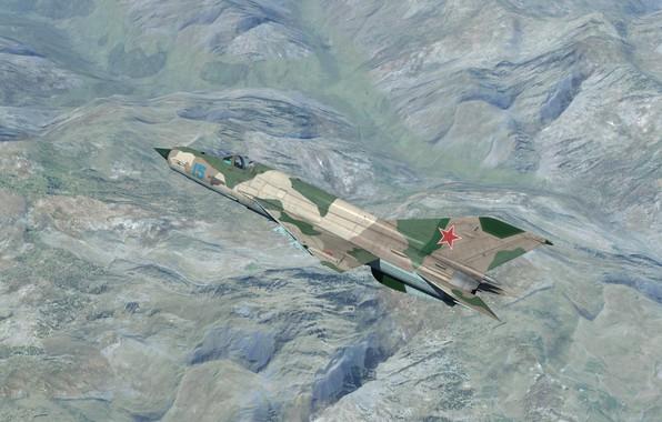 Картинка Легенда, КБ МиГ, МиГ-21бис, Фронтовой истребитель